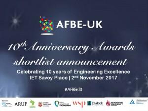 AFBE shortlist 2017